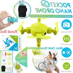 JJRC D4 Mini Quadcopter Pocket Drone Wifi 720P HD Camera Alt