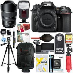 Nikon D7500 20.9MP DX-Format 4K Ultra HD Digital SLR Camera