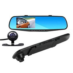 Car Camera|4.3 inch LCD HD 1080P Dash Cam |Car Video Camera