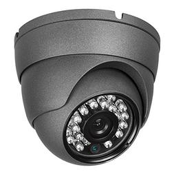 Real HD 1080P Dome HD Analog Outdoor Security Camera , 2MP 1