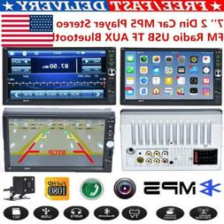 Double 2Din Android 8.1 7inch Quad Core Car Stereo MP5 Playe