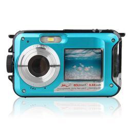 Double Screen Underwater <font><b>Camera</b></font> HD Water