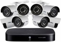 Lorex DP181-82NAE 1080p HD 8-Channel Security System 8 HD Ca