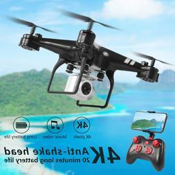 Drone 4k <font><b>camera</b></font> <font><b>HD</b></font> W