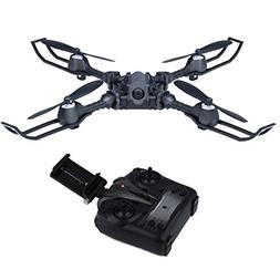 bangcool Drone Camera, Folding Quadcopter Drone with HD Came