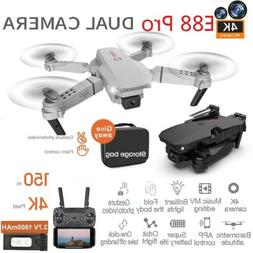 Drone WIFI FPV 1080P 4K HD Camera Foldable Remote RC Quadcop