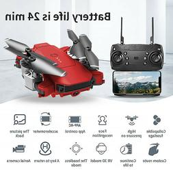 Drone X Pro Foldable Quadcopter Aircraft WIFI FPV 1080P Wide