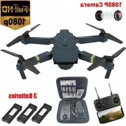 Drone X Pro WIFI FPV 1080P HD Camera 3 Batteries Foldable Se
