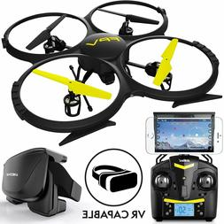 Force1 Drones with Cam for Adults Kids U818A WiFi FPV 720p H