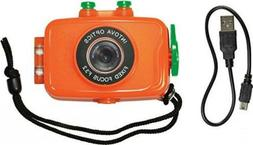 Intova Duo Waterproof HD POV Sports Video Camera Orange