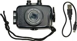 Intova Duo Waterproof HD POV Sports Video Camera Black