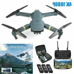 E58 Drone x pro 2MP HD Camera Wifi APP FPV Foldable Wide-Ang