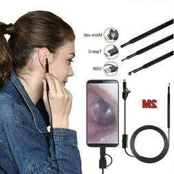 Ear Cleaning Endoscope USB 5.5mm Visual Earpick HD Camera Sp