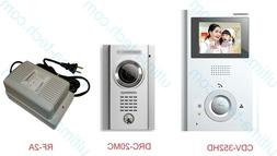 COMMAX Easy 2-wire 3.5-in Hands-free Video Door Intercom and