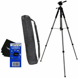 "72"" Pro Elite Series Photo/video Tripod & Deluxe Soft Carryi"