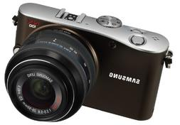Samsung EV-NX100 14.6 MP Digital Camera with 20-55mm Zoom Le
