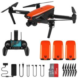 Autel Robotics EVO Drone Quadcopter + 3 Batteries 4K 60FPS V