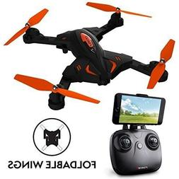 F111 Foldable Drone, HD Camera, Personal-View-Point Live Vid