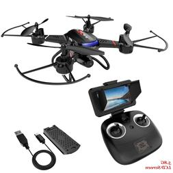 Holy Stone F181G Drone with Camera 5.8G FPV LCD Screen RC qu