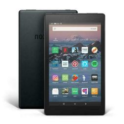 "Amazon Fire 8"" HD Display 16GB Wi-Fi Tablet Dual Cameras Fac"