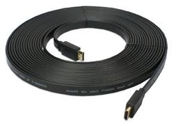 QVS 10 Meter Flat High Speed HDMI with Ethernet