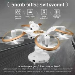 Foldable Mini Drone 2MP HD Camera 4CH 6Axis RC Quadcopter He