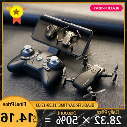 Foldable Mini Drone With RC Quadrocopter With <font><b>Camer