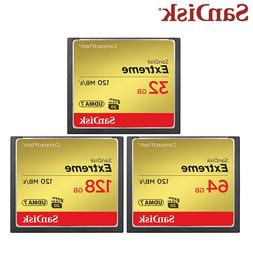 <font><b>SanDisk</b></font> Memory Card 128GB CompactFlash C