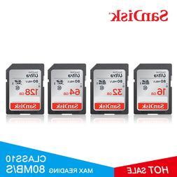 <font><b>SanDisk</b></font> Memory Card 32GB Class 10 64GB 1