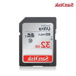 <font><b>SanDisk</b></font> SD Card 32gb SDHC <font><b>HD</b