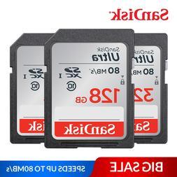 <font><b>SanDisk</b></font> Ultra Memory Card SDHC/SDXC SD C