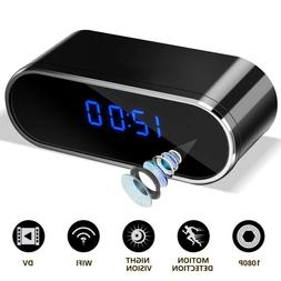 <font><b>HD</b></font> 1080P Wireless Wifi Alarm Clock <font