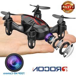 DROCON GD60 Mini Drone With 720P HD Camera Micro RC Quadcopt
