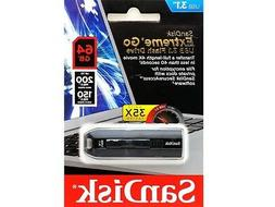 SanDisk Extreme Go USB 3.1 Flash Drive 64GB  NO TAX