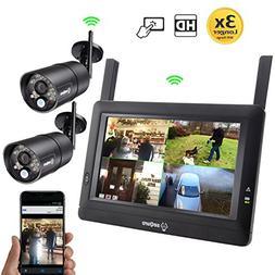Sequro GuardPro DIY Long Range Wireless Video Surveillance S