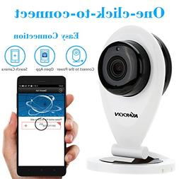 KKmoon H.264 1.0MP HD 720P Mini IP Camera P2P IR Cut WiFi Ne
