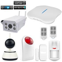 H61 KERUI APP WiFi PSTN Wireless Home Burglar Security Alarm