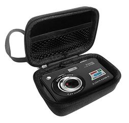 "FitSand Hard Case for Aberg Best 21 Mega Pixels 2.7"" LCD Rec"
