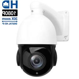 HD 1080P 2MP Outdoor IP Camera 30X Zoom Waterproof PTZ Speed