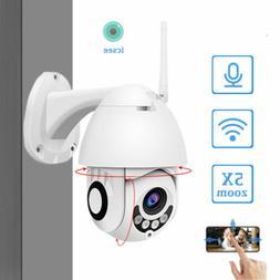 HD 1080P WIFI Security Cameras Wireless Outdoor CCTV Home Se