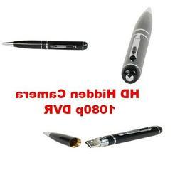 HD Pen Hidden Camera Detector 1080p 16GB DVR W/ USB Cable Ch