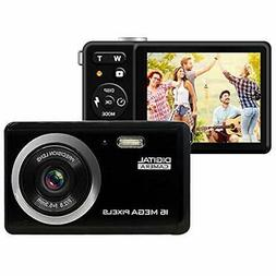 HD Point & Shoot Digital Cameras Camera, Rechargeable Mini W