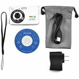 HD Point & Shoot Digital Cameras Slim 720P Video Student 2.7
