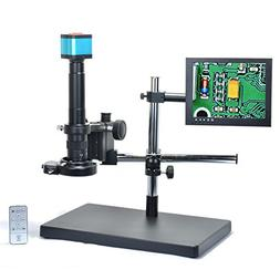 Aihome 14MP HDMI HD USB Digital Industry Video Microscope Ca