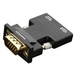 Bangcool HDMI to VGA Adapter 1080P Portable HDMI to VGA Conv