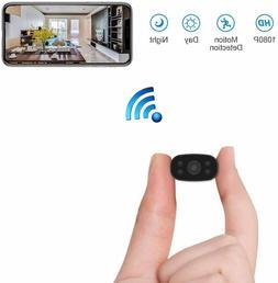 Hidden Security Cameras HUOMU Mini spy cam 1080P HD Wireless
