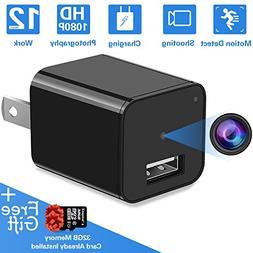 Hidden Spy Camera | Mini USB Hidden Camera Spy Charger Hidde