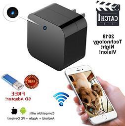 Hidden Spy Cam Wifi USB Wall Charger Camera ~ Superior Motio