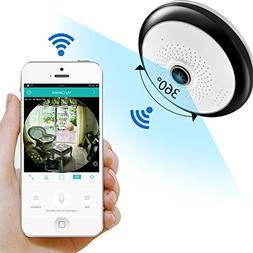 360 Degree Home Security Camera Panoramic Wifi Camera HD 960