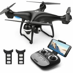 hs100 wifi gps drone with 1080p hd